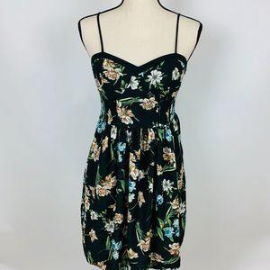 4/$25 | Xhilaration Green Floral Dress